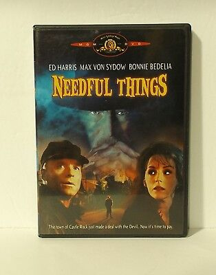 Needful Things (DVD, 2002) Stephen King AUTHENTIC REGION 1