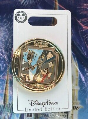 Disney Parks Mulan 20th Anniversary Spinner Pin LE 2000 New In Hand