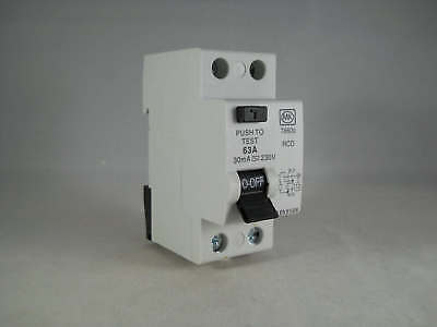 MK 7860s 63Amp RCD Fully Working Fast Same Day Dispatch First Class