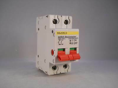 Square D KQ 125 Amp Main Switch Loadcentre 125A 2 Pole Isolator KQ125SW2