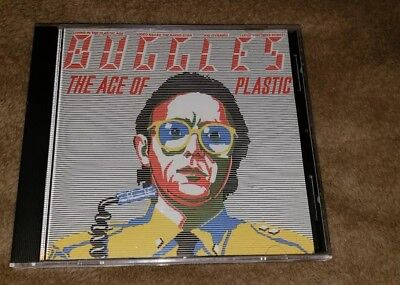 THE BUGGLES cd THE AGE OF PLASTIC free US shipping