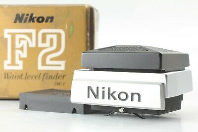 【NEAR MINT in BOX】 Nikon DW-1 Waist Level Finder for F2 from Japan #31