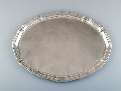 Danish silver, large tray, 1930s / 40s.