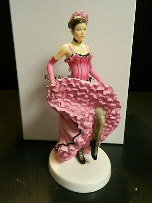 Royal Doulton Dances Of The World French Can Can HN5571 In Original Box Excell
