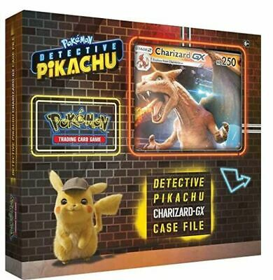 Pokemon TCG: Detective Pikachu Charizard-Gx Case File + 6 Booster Pack + A Foil