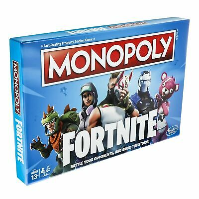 MONOPOLY Fortnite Gamers Edition Board Game New