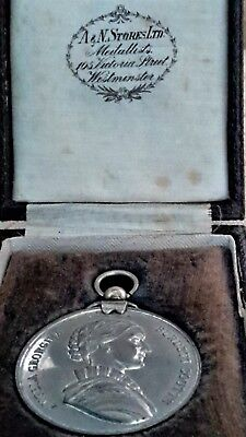 Medal 1936, ROBERT PATMORE, Westminster UK, Burdett Coutts & Townshend, Boxed