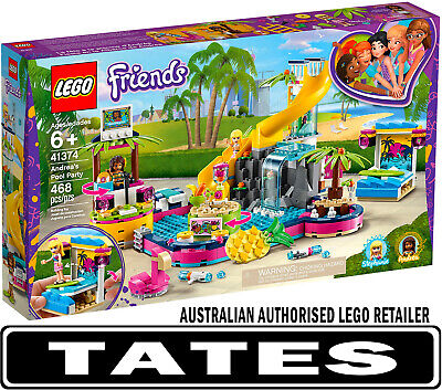 LEGO® 41374 Andrea's Pool Party Friends from Tates Toyworld