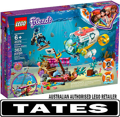 LEGO® 41378 Dolphins Rescue Mission Friends from Tates Toyworld