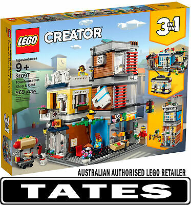 LEGO® 31097 Townhouse Pet Shop and Cafe Creator 3in1 from Tates Toyworld