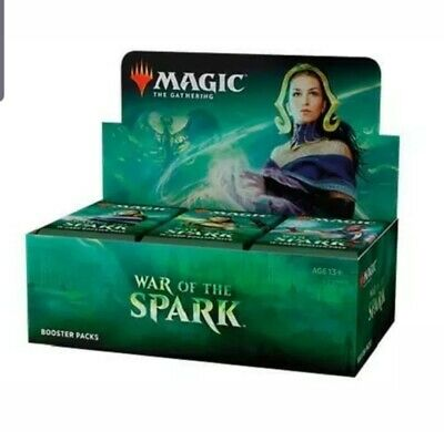 Magic the Gathering MTG - War Of The Spark - Factory Sealed Booster Box