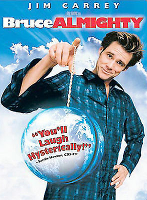 Bruce Almighty-DVD-2003-JIM Carrey-FRENCH AND ENGLISH-FREE SHIP TO USA & CANADA