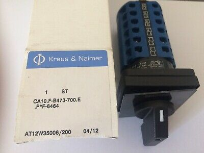 KRAUS & NAIMER at12w35006/200 commutateur rotatif