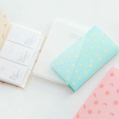 96 Pocket Photo Album Lomo Card Photocard Name ID Card Holder Ticket Collection