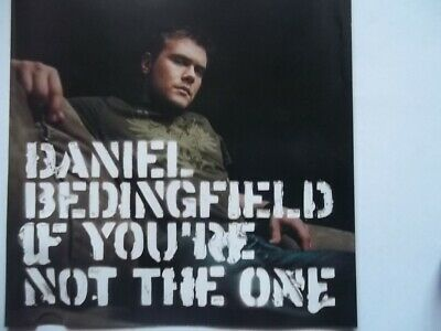 Daniel bedingfield if youre not the one album cover