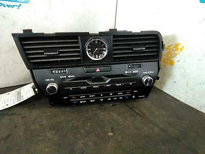 LEXUS RX350 OEM A/V Equipment receiver, ID P11553 on radio face.2017,19E0569