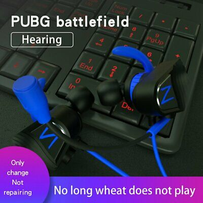 In-ear Gaming Headset Stereo Surround Headphone 3.5mm Stereo Mic Shocking YQ