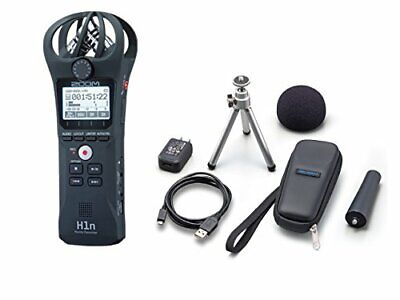 NEW ZOOM Handy recorder H1n with accessory pack APH-1n SET from JAPAN