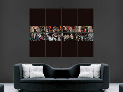 Pulp Fiction Movie Poster Print Film Classic Art Wall Picture Print Large