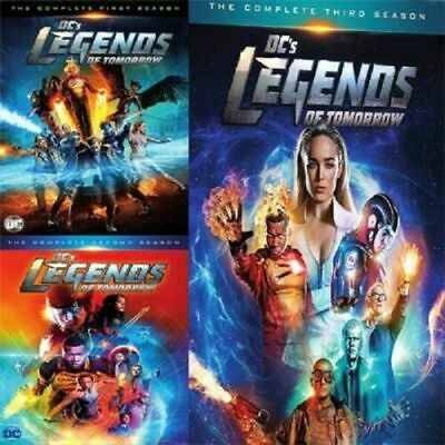DC Legends Of Tomorrow DVD Box Set Season 1-3 Complete Collection TV Series New