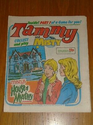 Tammy And Misty 2Nd February 1980 British Weekly_