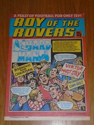 Roy Of The Rovers 23Rd February 1980 Football British Weekly_