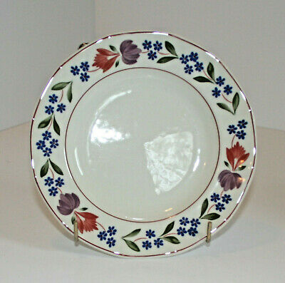"""Adams OLD COLONIAL - Soup Bowl Rimmed -  Set of Four - 7 3/4"""" Diameter"""