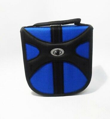 Body Glove 32 Slot CD/DVD Blue Zippered Storage Wallet by Fellowes