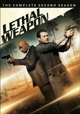 Lethal Weapon Season 2 DVD Box Set Complete Second TV Series Collection New