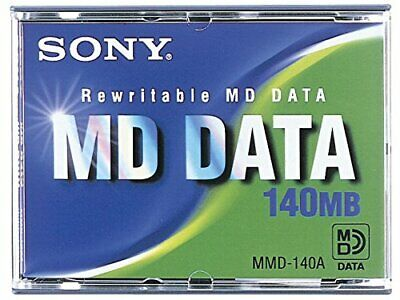 SONY MMD-140B Rewritable MD DATA 140MB from JAPAN NEW