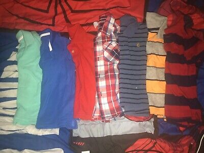 7 Toddler Boys Polo Tops. All Size 3T. Gap, CP, Old Navy, Carter Etc Never Worn