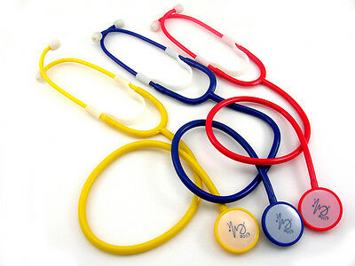 1 New Yelow Disposable Stethoscope  -  1 piece and Free Ship US Seller