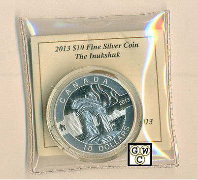 2013 'Inukshuk -O Canada' Proof $10 .9999 Fine Silver Coin (NT) (13118) (OOAK)