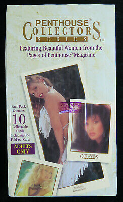 1992 Penthouse Collectors Series 36-Pack Factory Sealed Trading Card Box