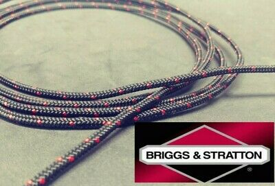 GENUINE Briggs & Stratton Starter Pull Rope Cord for Lawnmower 4 to 8 HP OEM