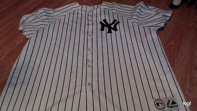 8323ee4e2 New York Yankees Alex Rodriguez Jersey Pinstripe Majestix 2XL XXL Men's