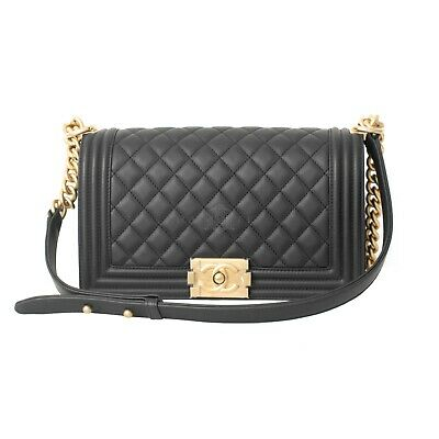 4573af2942bc CHANEL DIAMOND-QUILTED ANTIQUED Black Leather Carry On Trolley ...