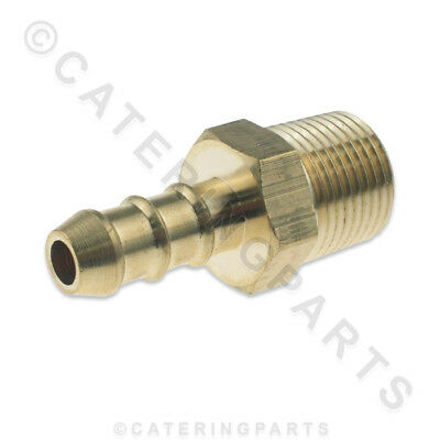 """LPG FULHAM NOZZLE 3/8"""" MALE BSP THREAD X 10mm OD NIPPLE FOR 8mm BORE GAS PIPE"""