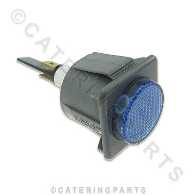 ATA SPARES 4224 BLUE 240v WARNING NEON INDICATOR LAMP FOR DISHWASHER GLASSWASHER