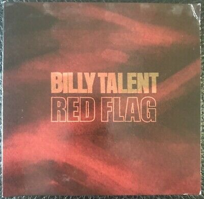 BILLY TALENT -  RED FLAG - 1 Track, Promotional CD Single