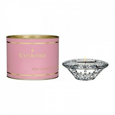 Waterford Pink Giftology Lismore Votive Crystal Candle Holder