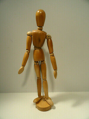 Jointed Wood Poseable Man Mannequin Artist's Figure