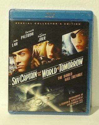 Sky Captain and the World of Tomorrow (Blu-ray Disc, 2010, Canadian) NEW REG. A