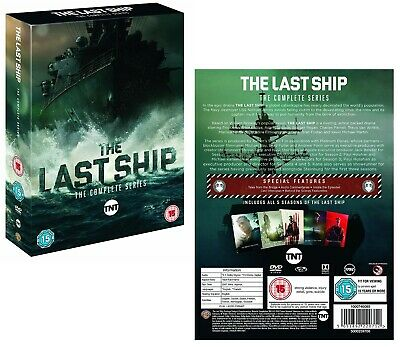 THE LAST SHIP 1-5 (2014-2018) COMPLETE Action TV Seasons Series - Rg2 DVD not US