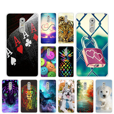 Soft TPU Case For Lenovo K6 Note Plus Clear Gel Silicone Back Cover Skins Pets