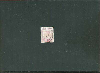 Lot 78166 Used 27 Gold Coast Stamp From British Colony Queen Victoria