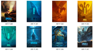 Godzilla King Of The Monsters Large Movie Poster HD Canvas or Photo 20X30 24X36