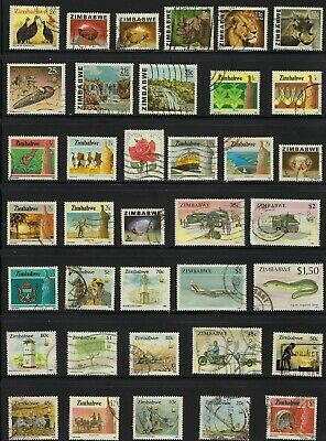 Zimbabwe,  Collection of Stamps...................BC ... R 19 Y 31