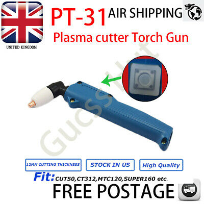 Plasma Cutter Consumables Torch Gun head body Cutting Equipment PT-31 LG40 HQ