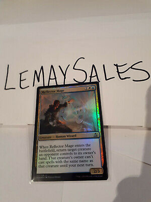 Reflector Mage *Foil* - Oath Of The Gatewatch - Uncommon Mtg Nm/M